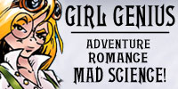 Girl Genius - Adventure Romance MAD SCIENCE!